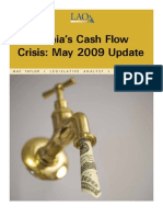 CALI Cash Flow Update 050709