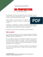 Ficha Propositiva