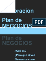 Elaboracion Plan de Negocios