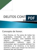 Delitos Contra El Honor 2011