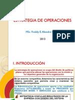 3 Estrategia de Operaciones