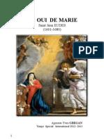 LE OUI DE MARIE