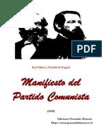 Manifiesto Comunista.
