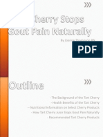 Cherry Juice and Gout Presentation