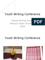 Youth Writing Conference