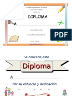 Diplomas Modelos