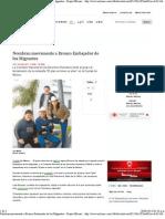 27-06-13 Nombran nuevamente a Bronco Embajador de los Migrantes