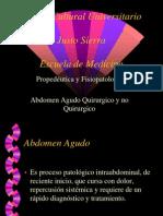 50361360 Abdomen Agudo Quirurgico y No Quirurgico Equipo 1 Sandro y Copia