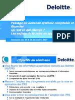 Les Normes Deloitte