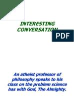 Teacher Student Interesting Conversation