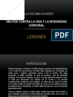 EXPOSICION LESIONES tarea 1