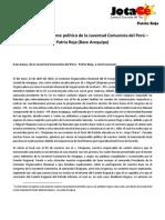Carta Abierta (JotaCé Arequipa)