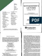 Ambrose-Alice_Wittgenstein - 039s Lectures - Cambridge - 1932-35