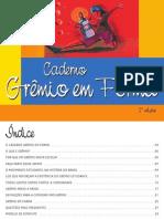 Caderno Grêmio em forma