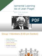 Group 1 Jean Piaget