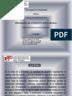 Conflicto y Negociacion - Prev. de Riesgos Laborales