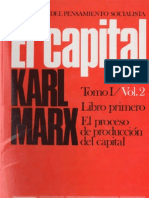 El Capital Vol. 2 (Libro I-II)