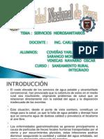Trabajo de Saneamiento - Cobeñas, Venegas y Sarango