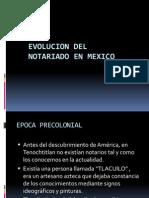 Mexico Historia Del Notariado