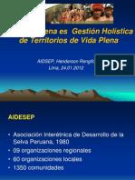 Roberto-Espinoza-AIDESEP Redd Indigena Es Territorios de Vida Plena