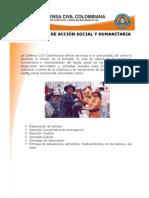 Programas de Accion Social y Humanitaria