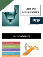 Logic and Decision Making by Rajnish Kumar
