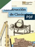 Construccion de Cimientos - Monografias CEAC de la construcción revisado