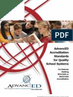 Advanced District Standards