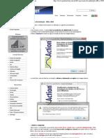 Processo de instalação - Office 2003  Portal Action
