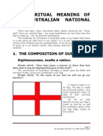 The Spiritual Significance of Our Australian Flag