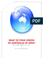 What is Your Vision of Australia in 2050