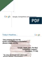 20090507 Google and Competition Preso