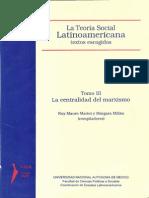 Teoria Social Latinoamericana Tomo 3