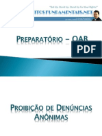 Preparatório OAB - Penal