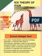 1.Lamarck Theory of Evolution