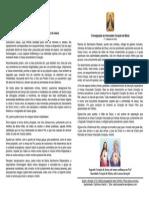 Devoção ao Sagrado Coração de Jesus e ao Imaculado Coração de Maria – 1ª sexta e 1° sábado do mês