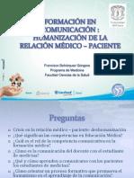 Comunicación, educación médica y humanismo