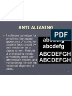 Anti Aliasing