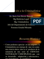 Introduccion a la Criminalística