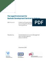 GTZ Vietnam Legal Environment Study Full Report