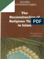 The Reconstruction of Religious Thought in Islam (Tajdeed-e-Fikriyat-e-Islam) by Allama Muhammad Iqbal