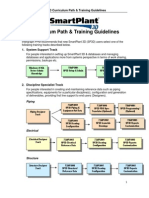 SmartPlant 3D Curriculum Path Training Guidelines V2011 R1