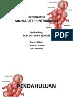 Ppt Mioma Dr.dra