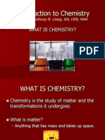 chemistry Chapter 1 & 2
