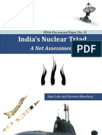 IDSA - India's Nuclear Triad - A Net Assessment