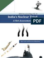 IDSA - India's Nuclear Triad - A Net Assessment