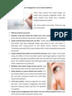 Tips Aman Menggunakan Lensa Kontak (Softlense)