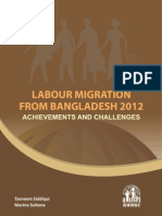 Labour Migration From Bangladesh 2012