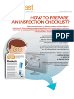Product Quality Checklist
