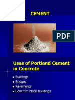 Chemistry & Maufacture of Cement